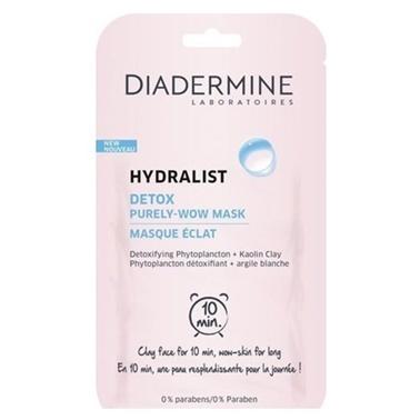 Diadermine Dıadermıne Hydralıst Detox Tek Kullanımlık Maske 8 Ml Renksiz
